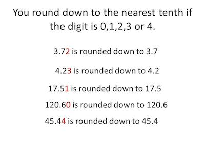 how-to-round-to-the-nearest-tenth